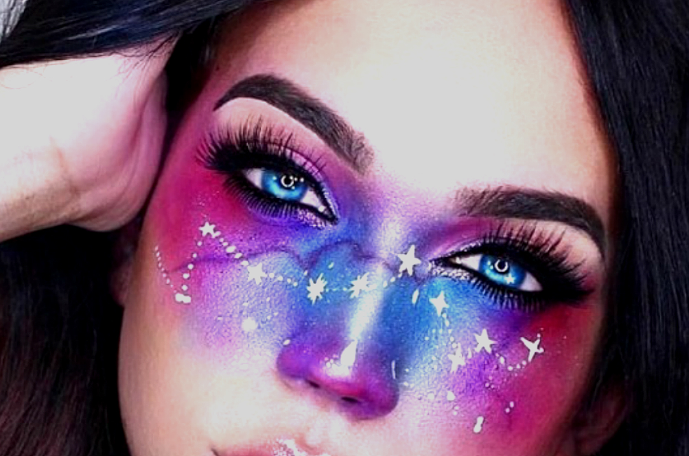 Watch Out For: The Galaxy Makeup Trend