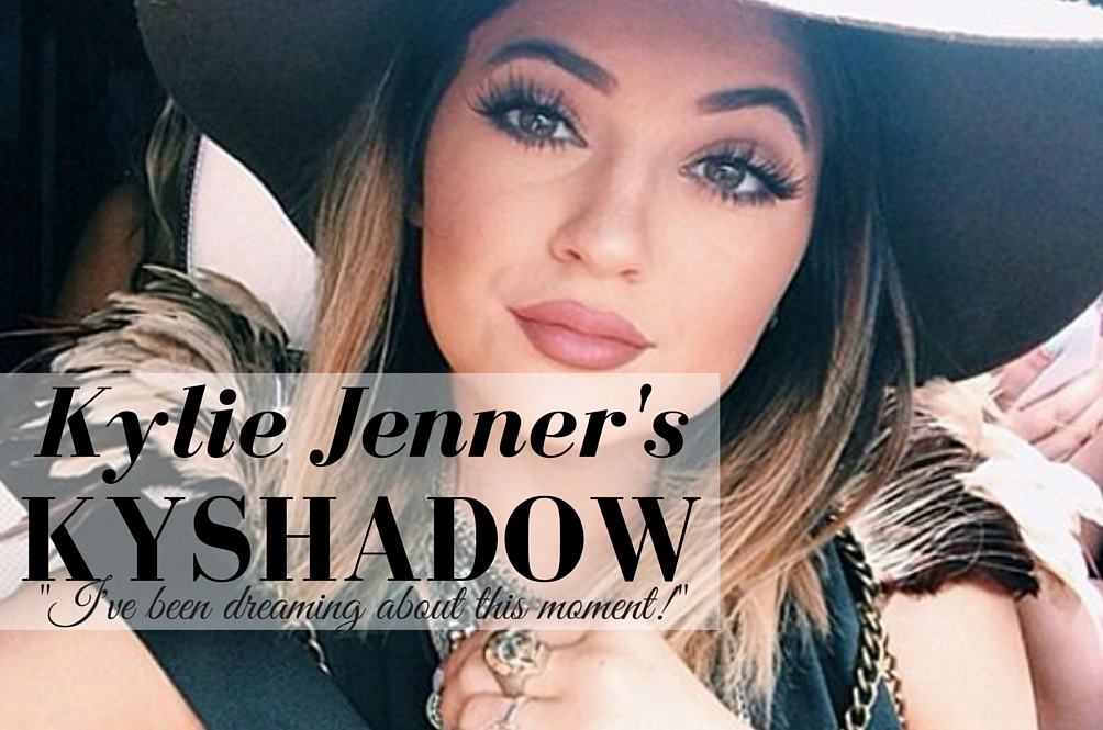 Kylie Jenner Launches Her Kyshadow Palette