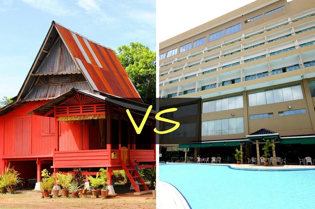 Trend Pulang Beraya Di Kampung Tapi Menginap Di Hotel?