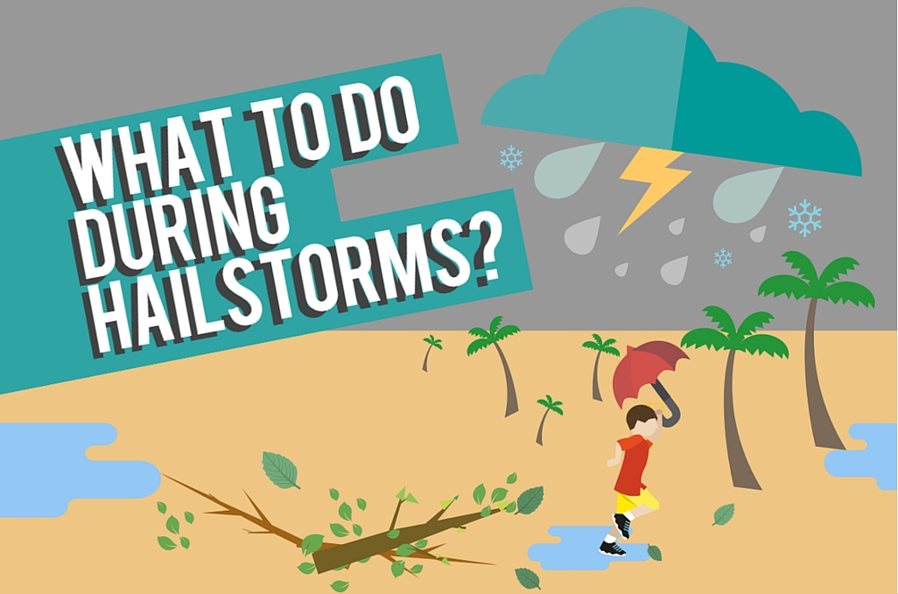 This is What You Should REALLY Do During Hailstorms