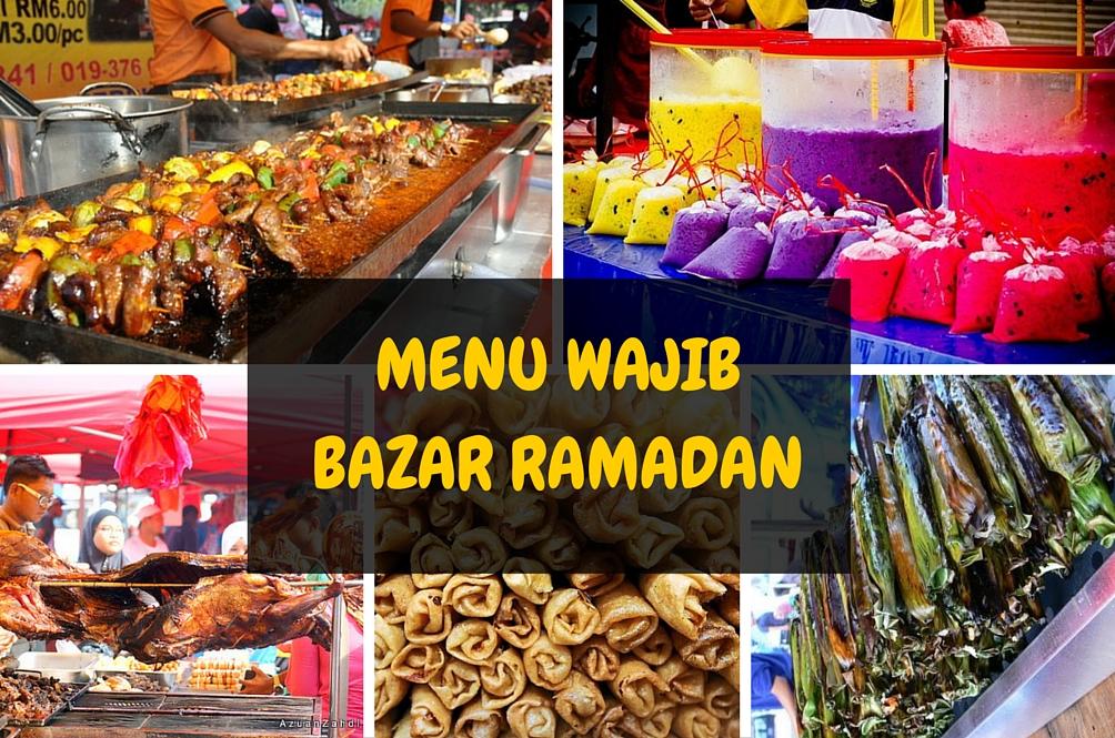 7 Menu Wajib Beli Di Bazar Ramadan Lifestyle Rojak Daily