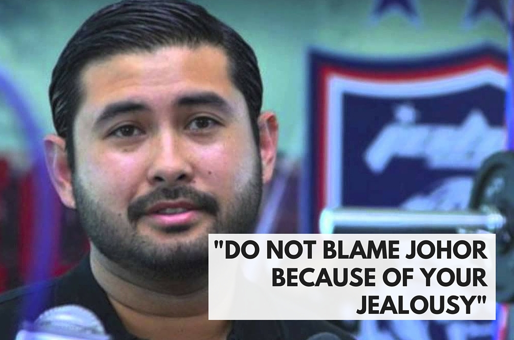 Remove Johor from Malaysia if You're Unhappy With Us – TMJ