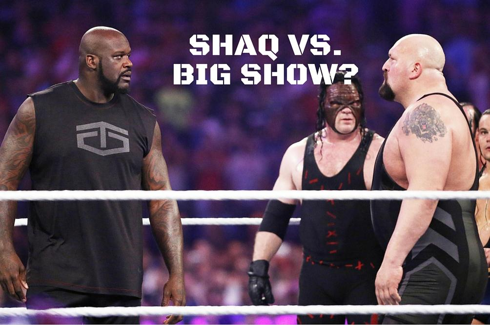 Big Show Challenges Shaquille O' Neal to a WrestleMania Showdown