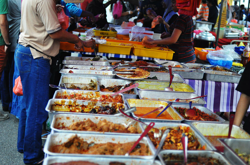 A Cambodian Man Was Detained for Posing as Muslim Beggar at a Ramadan Bazaar
