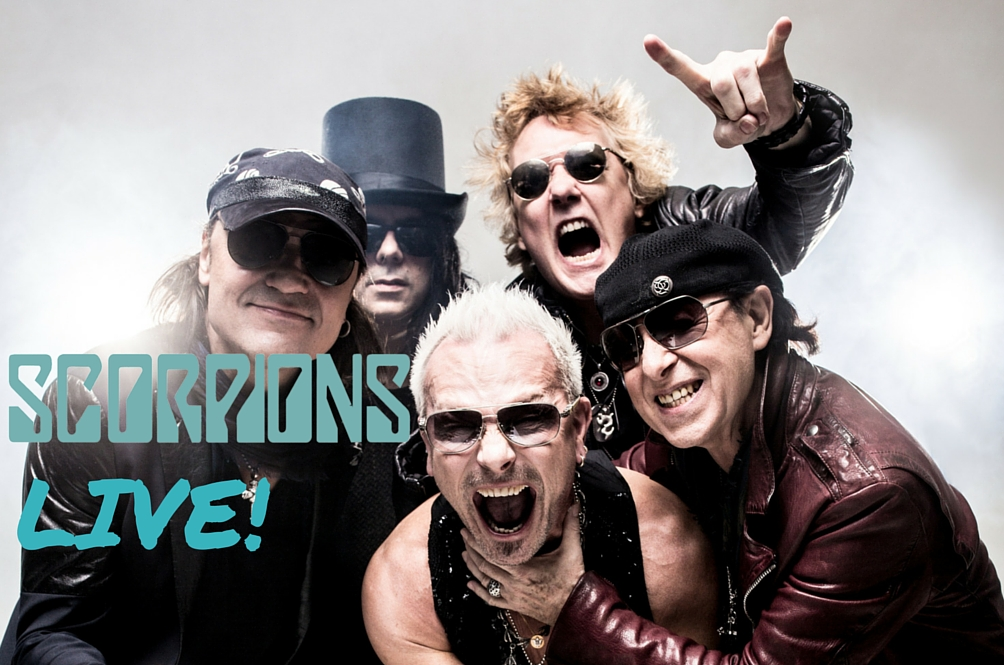 Rock Legends Scorpions Comes to Singapore in October