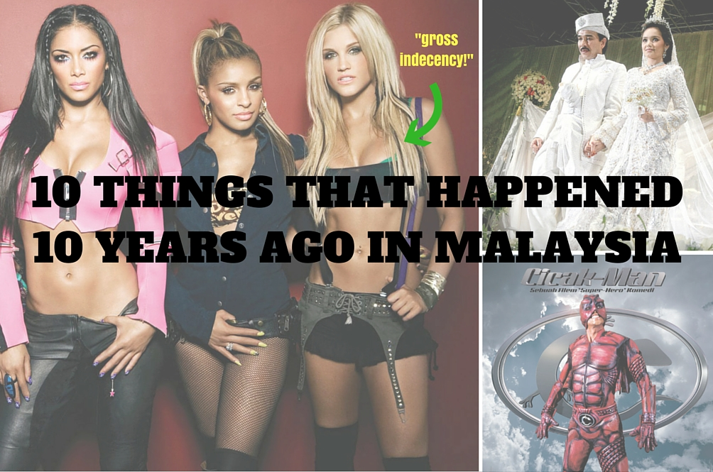 Things That Happened 10 Years Ago in Malaysia