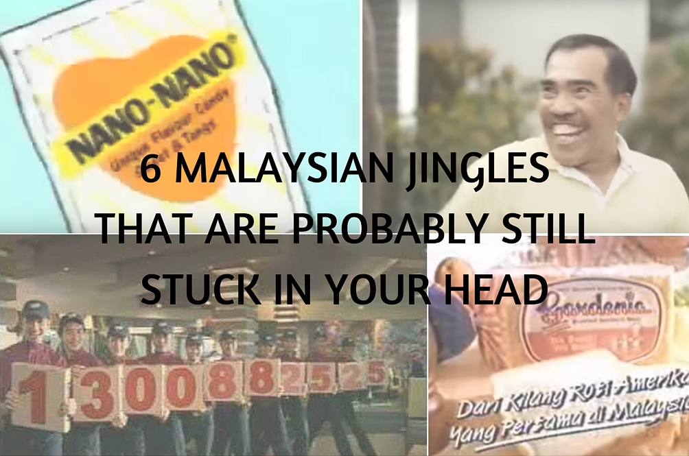 Six Malaysian Jingles That Are Probably Still Stuck in Your Head