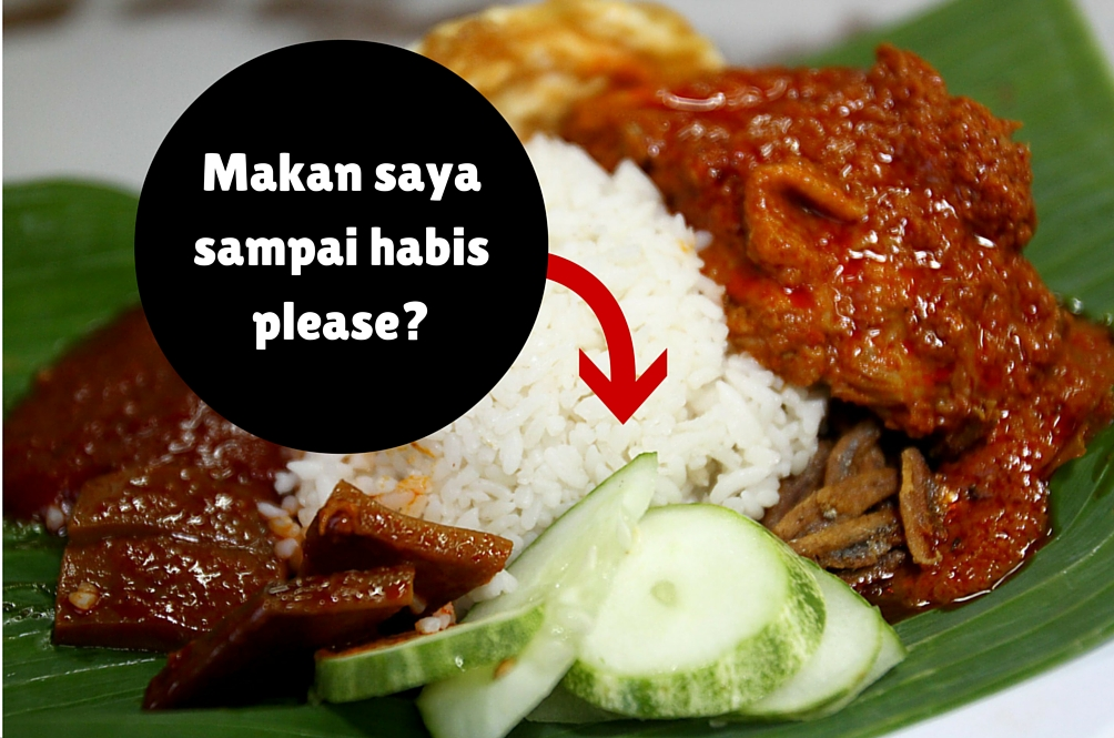 Orang Malaysia Bazir 15,000 Tan Makanan Sehari!