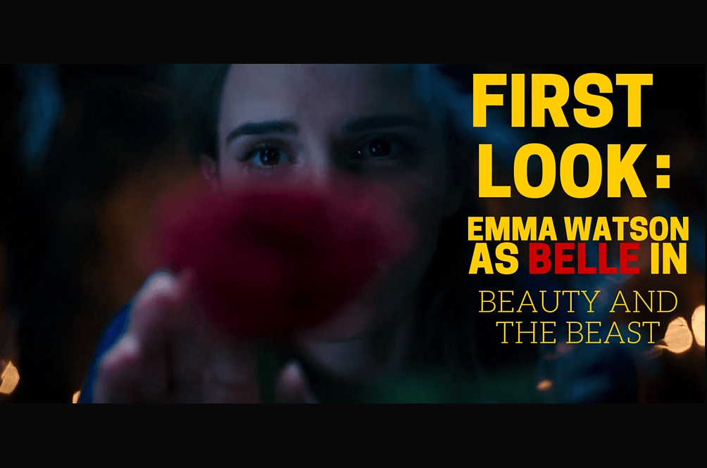 This is Emma Watson as Belle