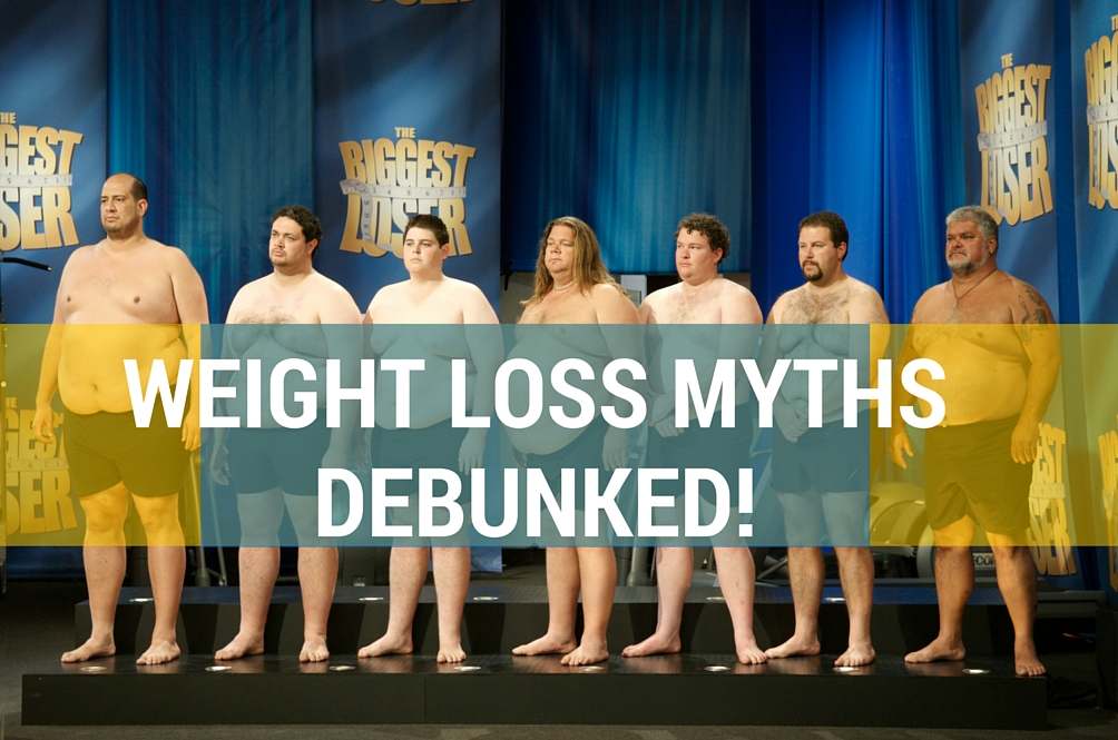 6 Extreme Weight Loss Myths Debunked by Biggest Loser Research