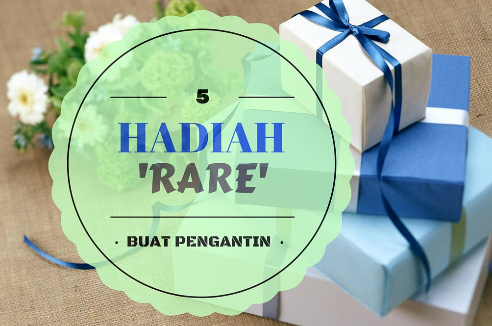 Hadiah 'Rare' Untuk Raja Sehari