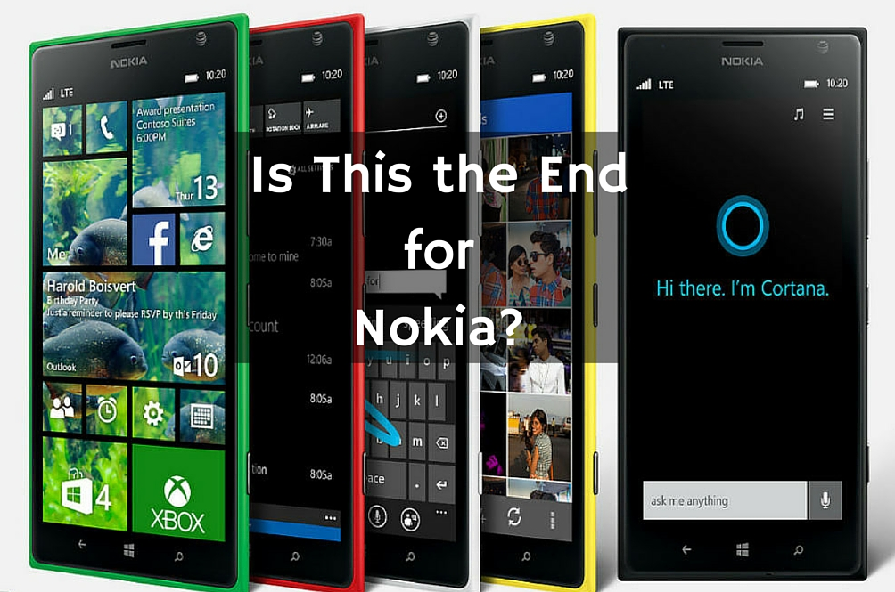 Is It Time to Say Good-bye to Nokia?
