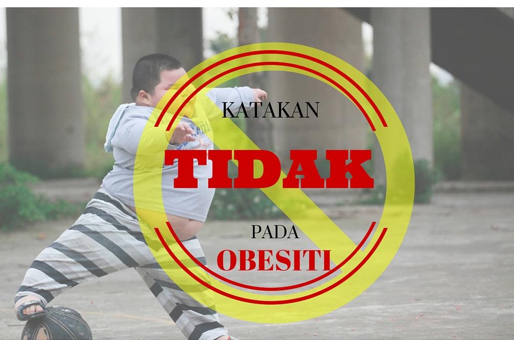 Obesiti Di Kalangan Kanak-Kanak Bukan Satu Pilihan