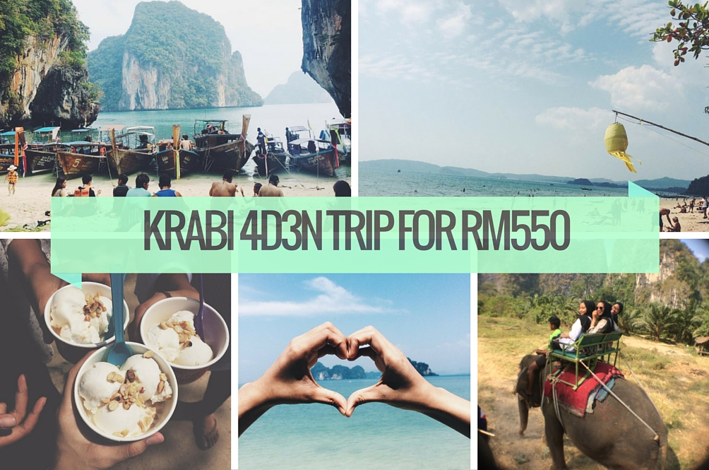 How We Went to Krabi for 4D3N with Only RM550