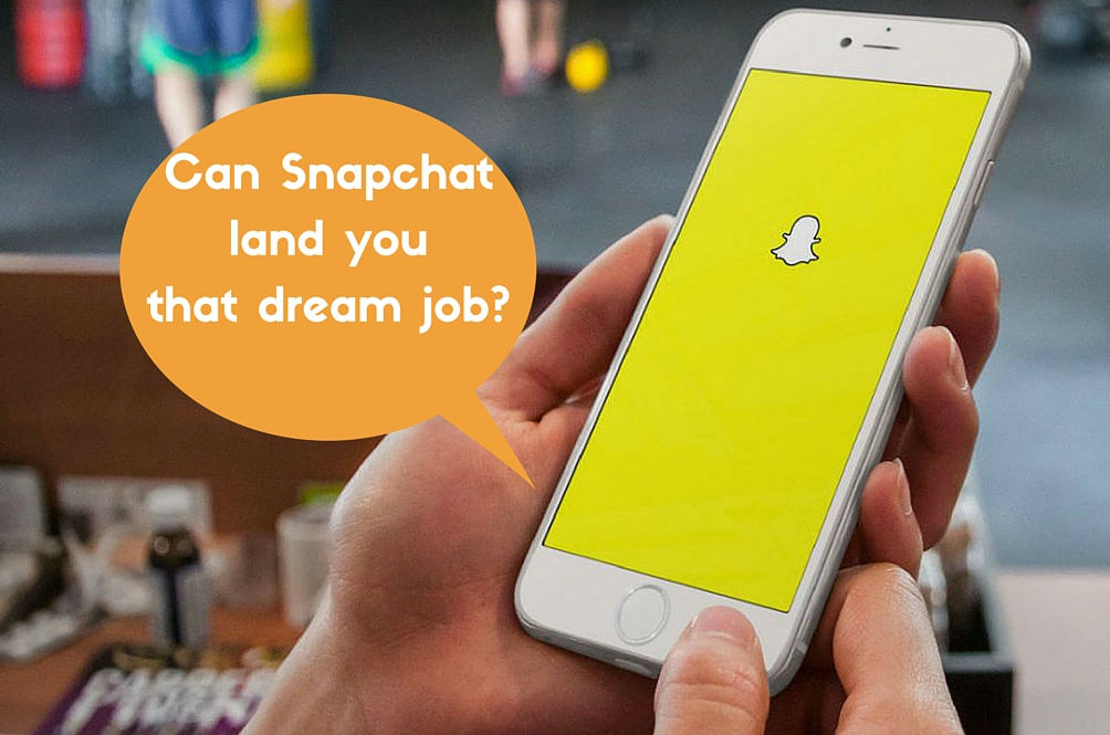 This Company is Accepting Job Applications Via... Snapchat?!