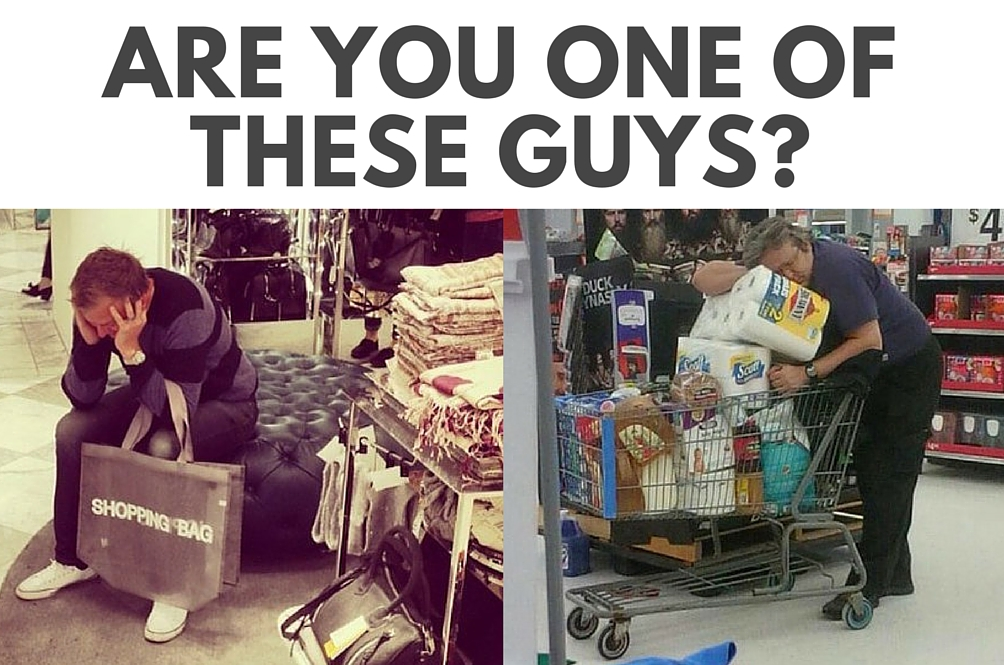 This Instagram Account Sums Up How Men Feel About Shopping