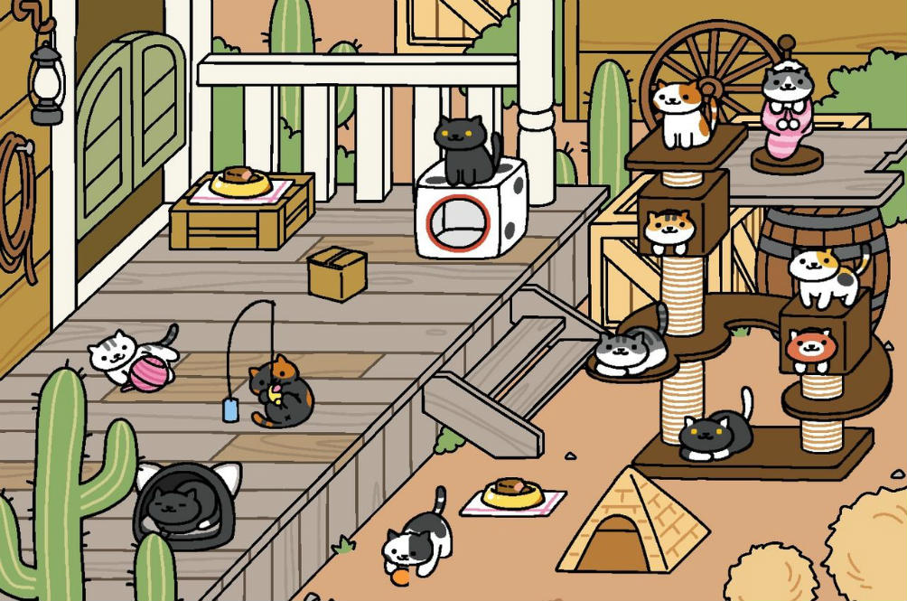 OMG, This Guy Brought Neko Atsume Cats to Our World!