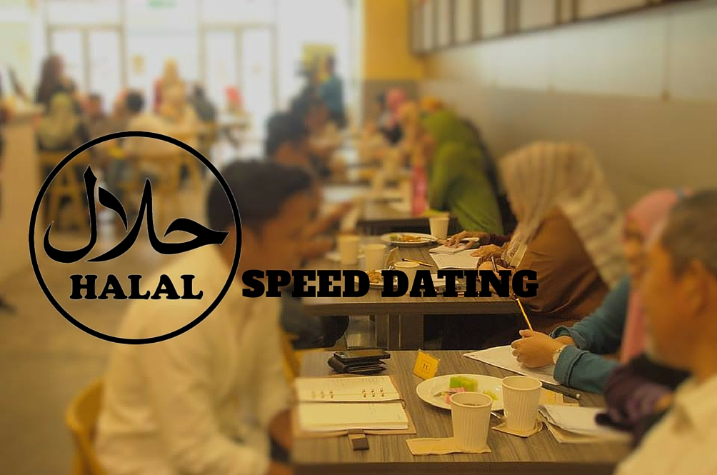 Ever Heard of Halal Speed Dating?