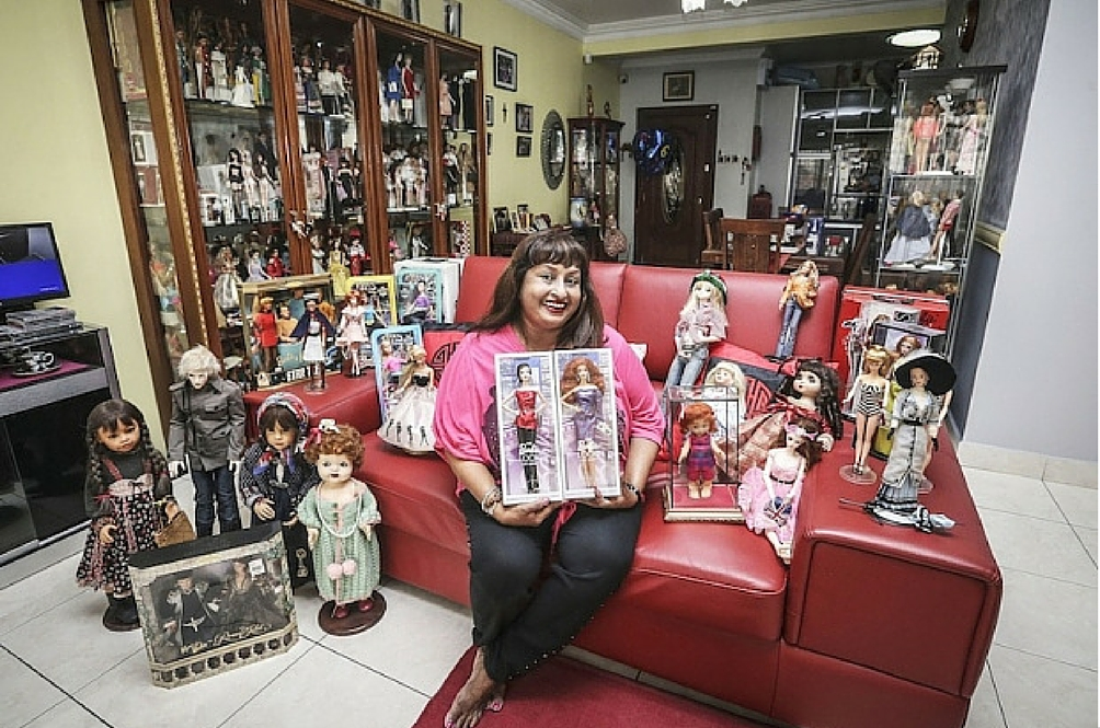 This 57-Year Old Malaysian Has an Impressive Collection of Over 1,000 Barbie Dolls