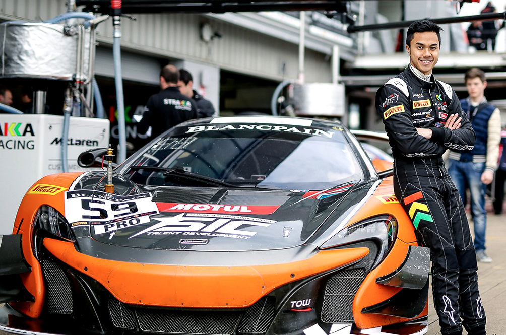 Three Career Tips From Malaysian McLaren GT Driver Jazeman Jaafar