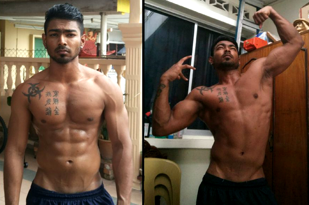 Find Out How This Malaysian Dude Got So Ripped Without Ever Going To The Gym