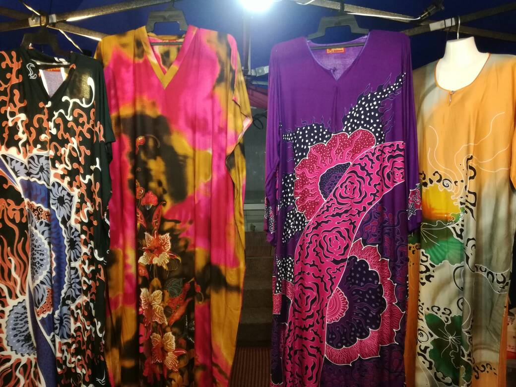 The many designs of Baju Kelawar.