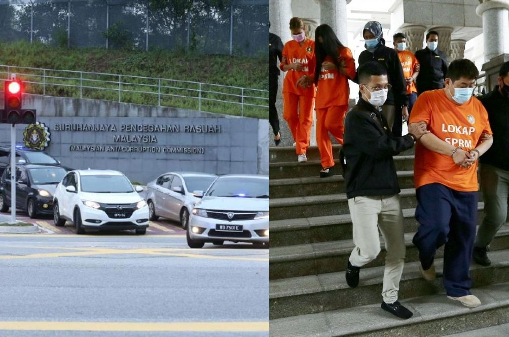 MACC: High Profile Macau Scam Suspect Escaped By Jumping Over Building Fence, Netizens Not Buying It