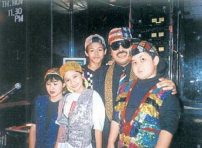 The cast of Cili Padi in 1993