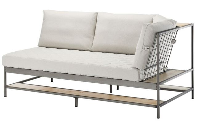 EKEBOL Three-seat sofa  RM1,490 (NP: RM1,990) Katorp natural. Comes with a 10-year guarantee.
