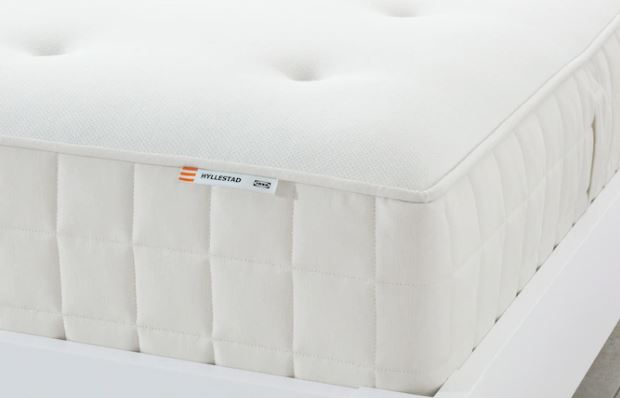HYLLESTAD Pocket sprung mattress, firm, single size RM799 (NP: RM999) White. 25-years guarantee.