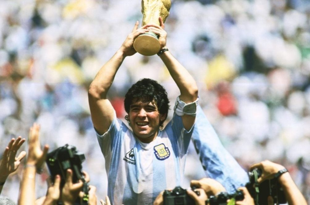 The World Mourns The Death Of Football Legend Maradona