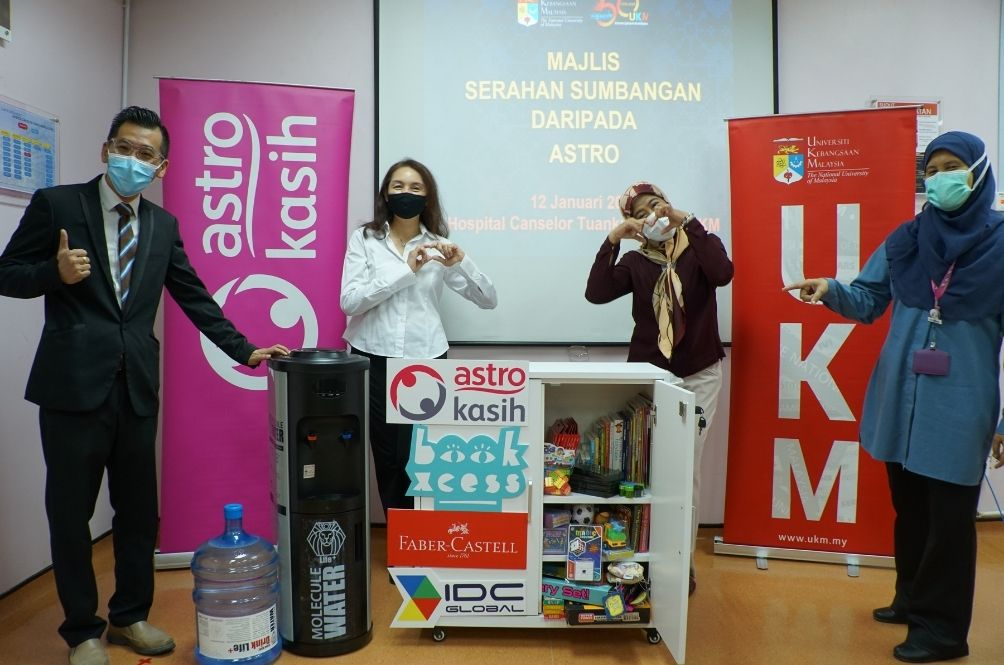 Astro Kasih Brings Fun Learning To Pediatric Wards Nationwide