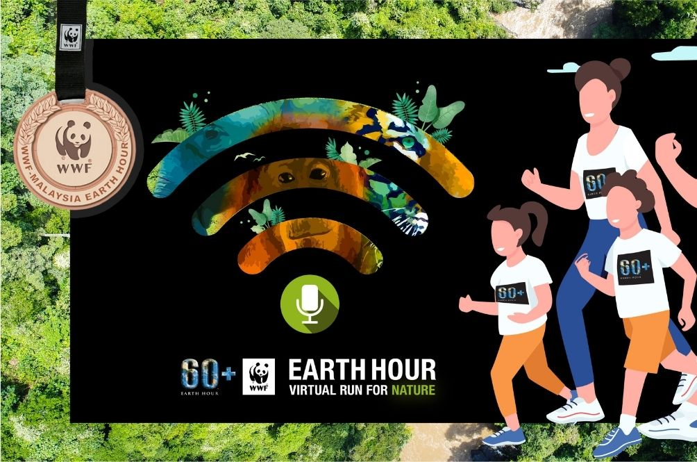 Join WWF-Malaysia's 'Virtual Run for Nature' In Conjunction With Earth Hour