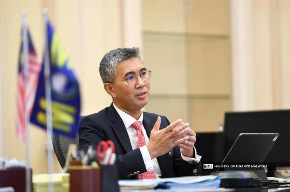 Minister of Finance Tengku Zafrul Aziz first brought up the issue.