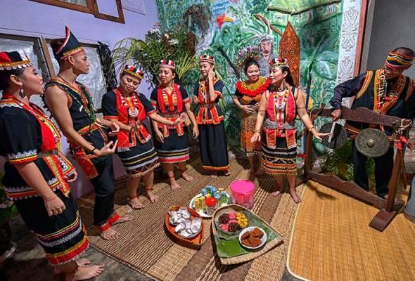 Harvest festival in Sarawak