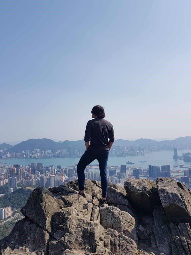 Muzzil at Kowloon Peak