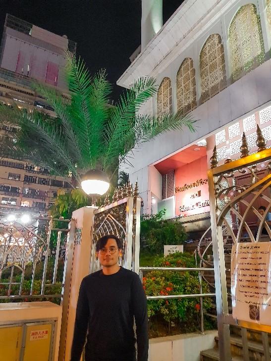 Muzzil at Kowloon Mosque