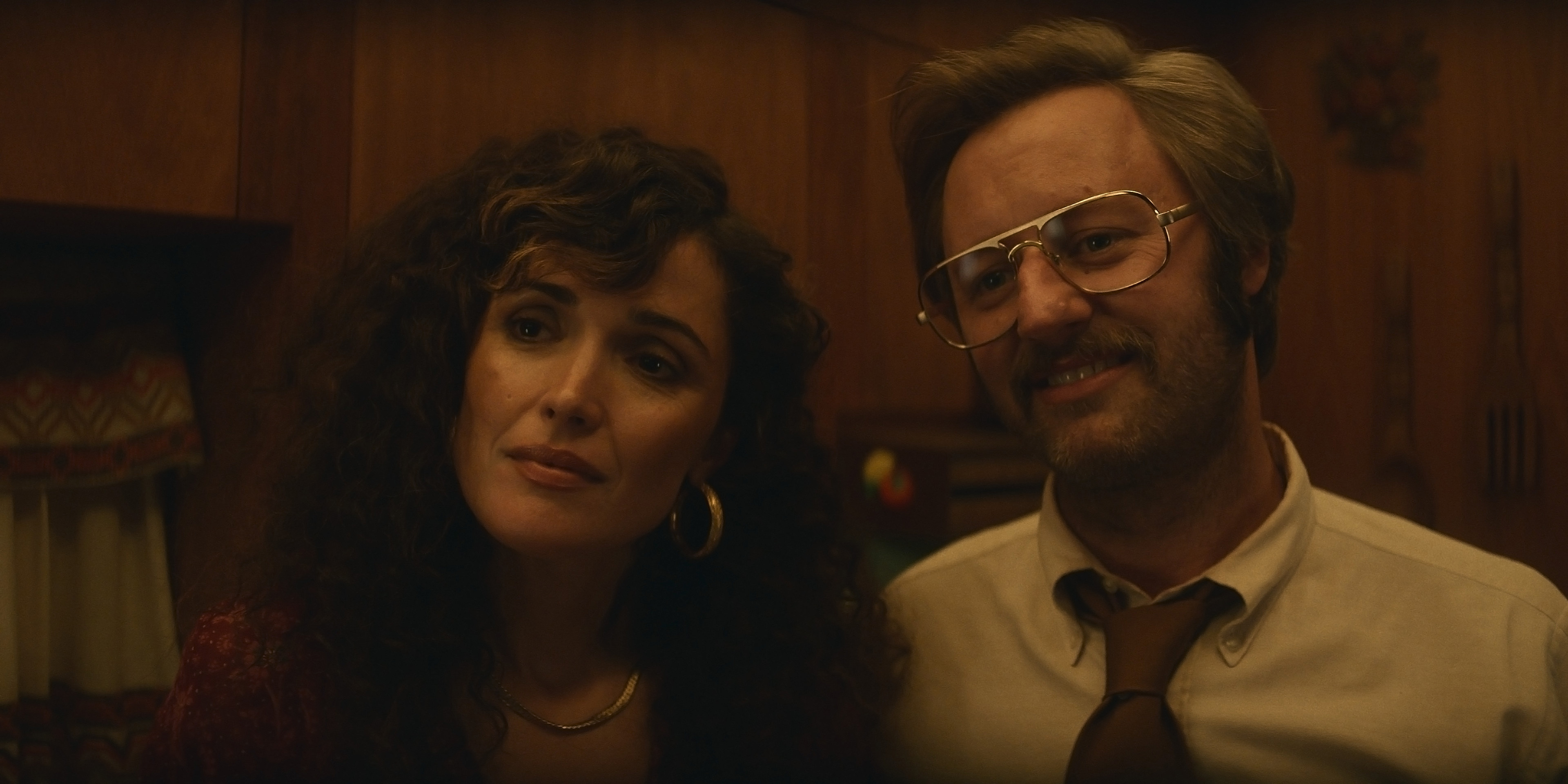 Rose Byrne and Rory Scovel in 'Physical'