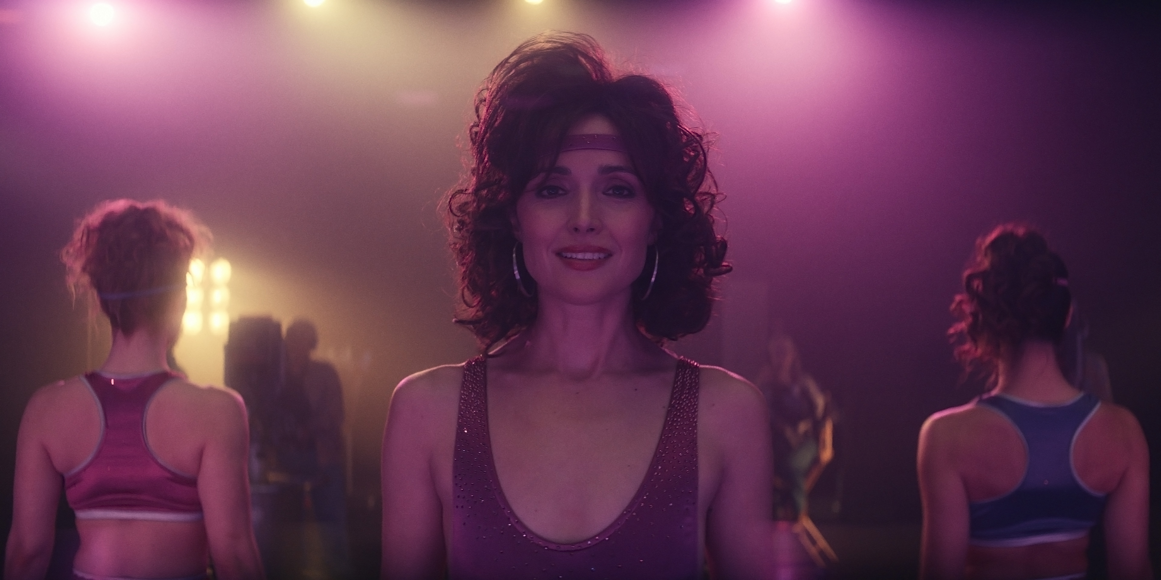 """Rose Byrne in """"Physical,"""" a new dramedy from creator Annie Weisman, premiering June 18, 2021 on Apple TV+."""