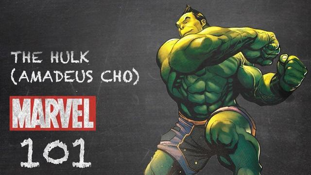 One of the many Hulks in Marvel