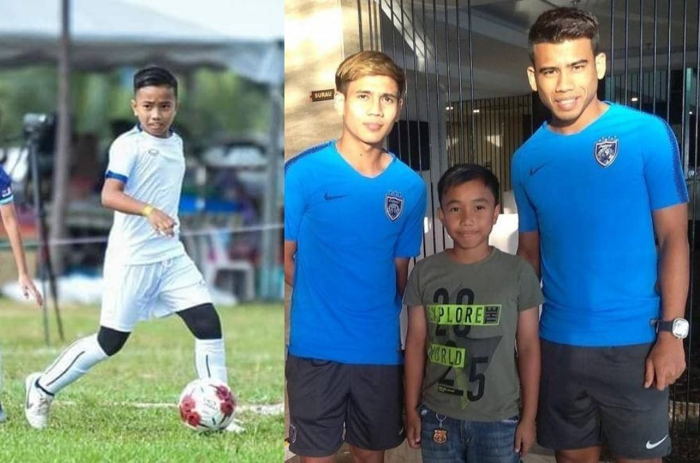 12-Year-Old Malaysian Boy Receives Football Scholarship From Brazil Academy