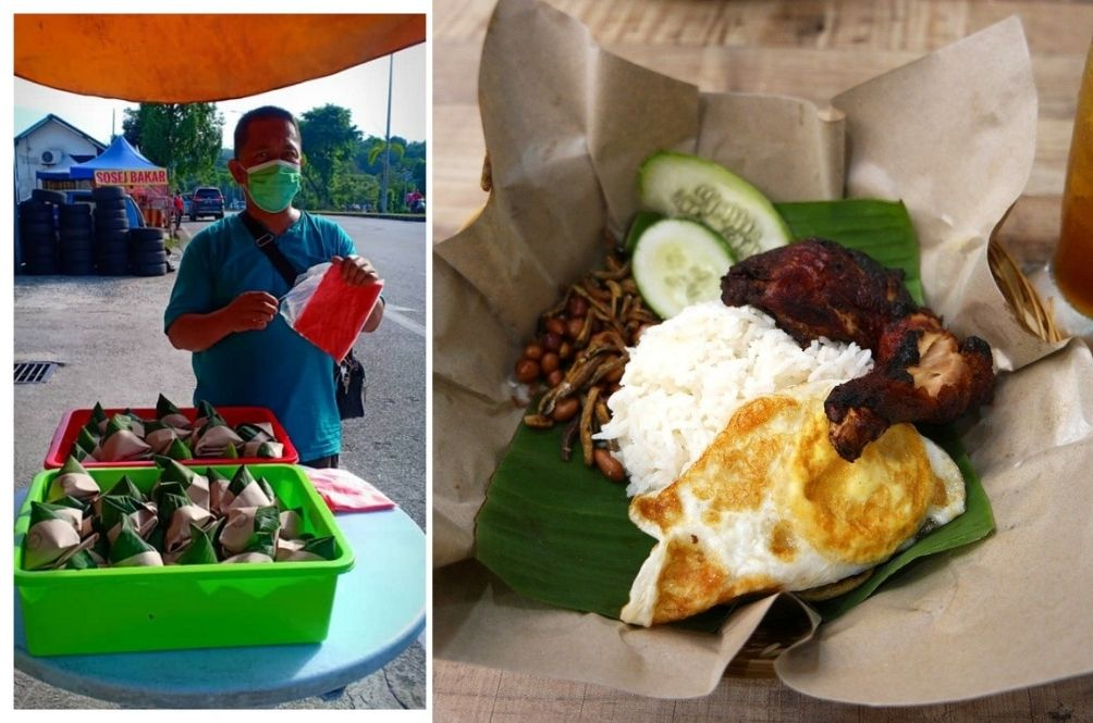 Customers Inspire Nasi Lemak Seller in Puchong To Donate Food To Orphanages