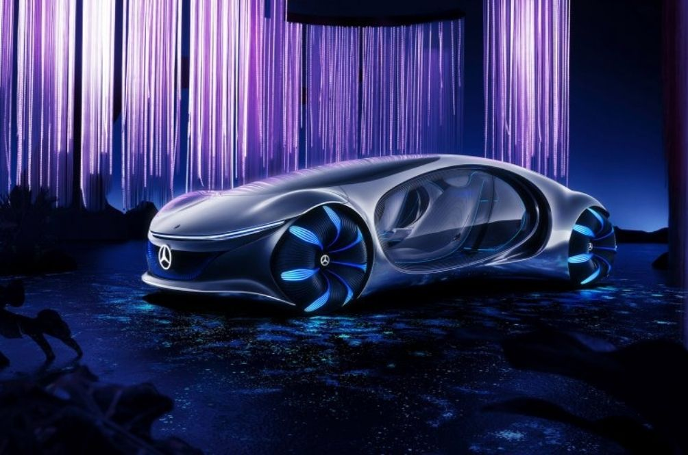 Mercedes-Benz's Futuristic Vision AVTR Concept Car Can Be Controlled With Your Mind