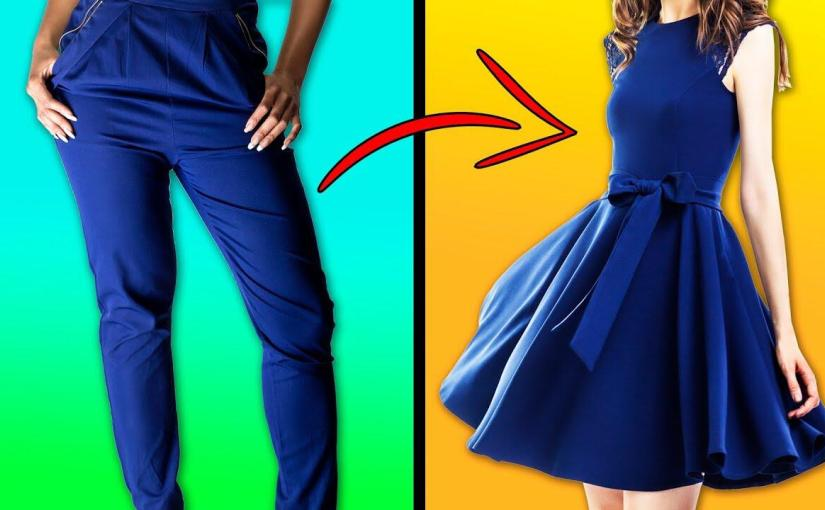 Remake your clothes to give it a new life