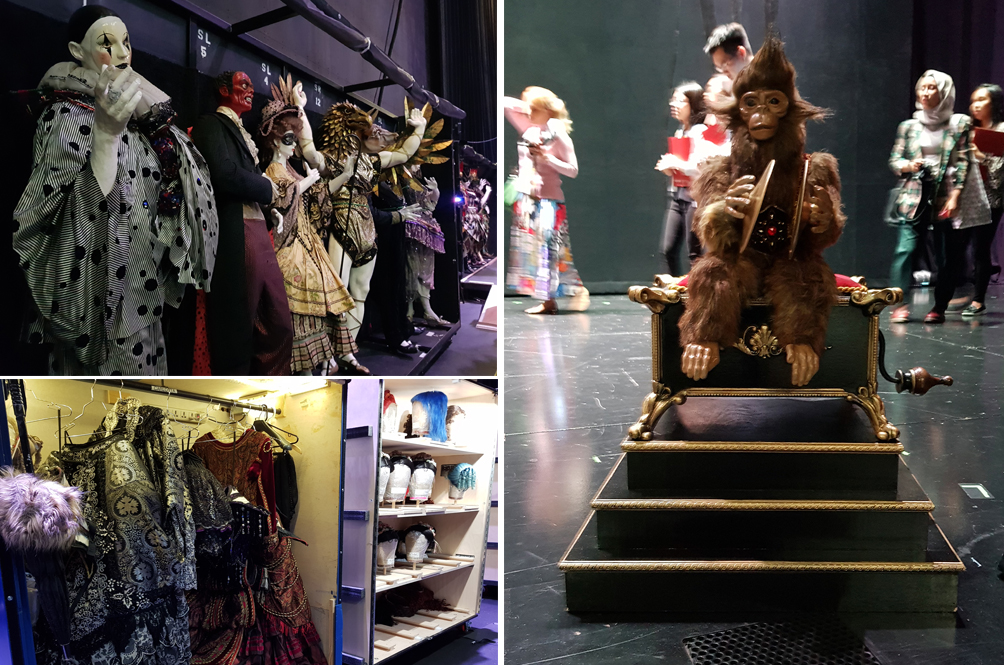 This Is What It Looks Like Backstage Of 'The Phantom of The Opera' Production