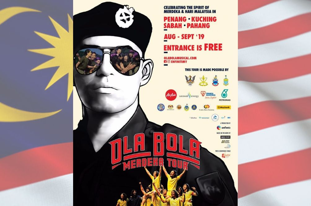 Catch Ola Bola The Musical on these dates!