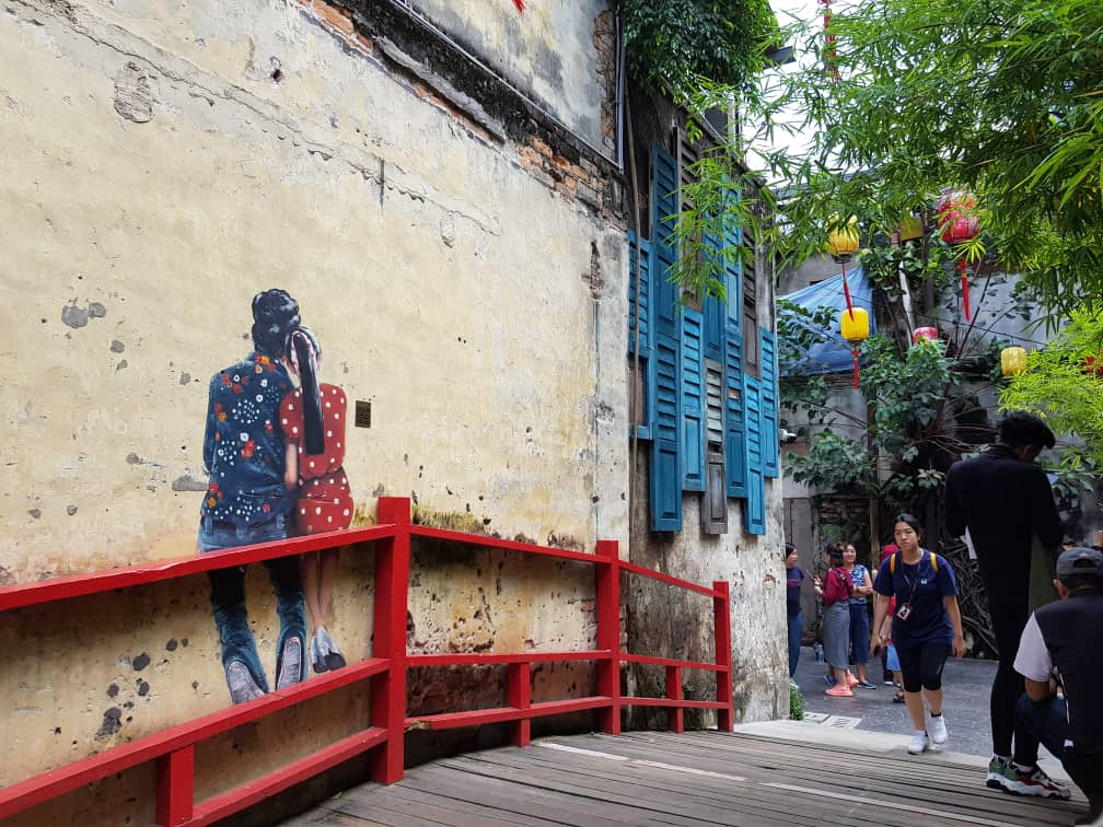 Murals at Kwai Chai Hong have made the once dead alley a tourist attraction
