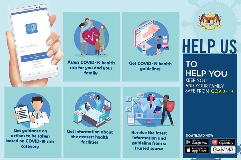 Government Launches MySejahtera App To Help In The Fight Against COVID-19