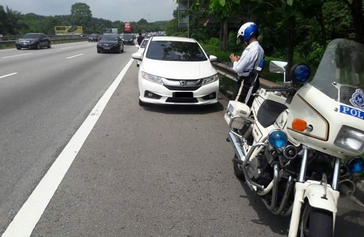 Summons aside, you should be a good person and not drive on emergency lanes