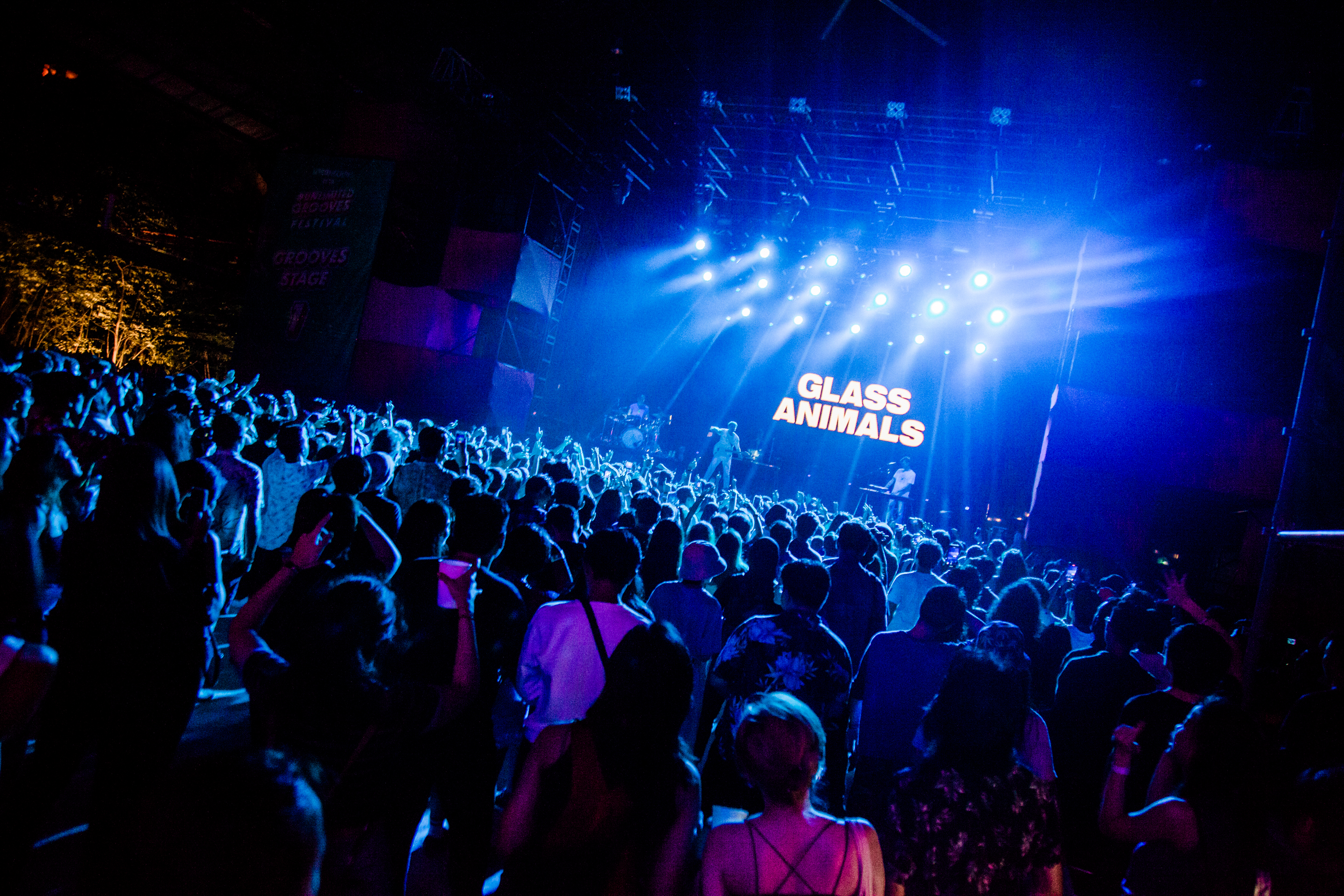 Glass Animals at Unlimited Grooves Festival Closing Party